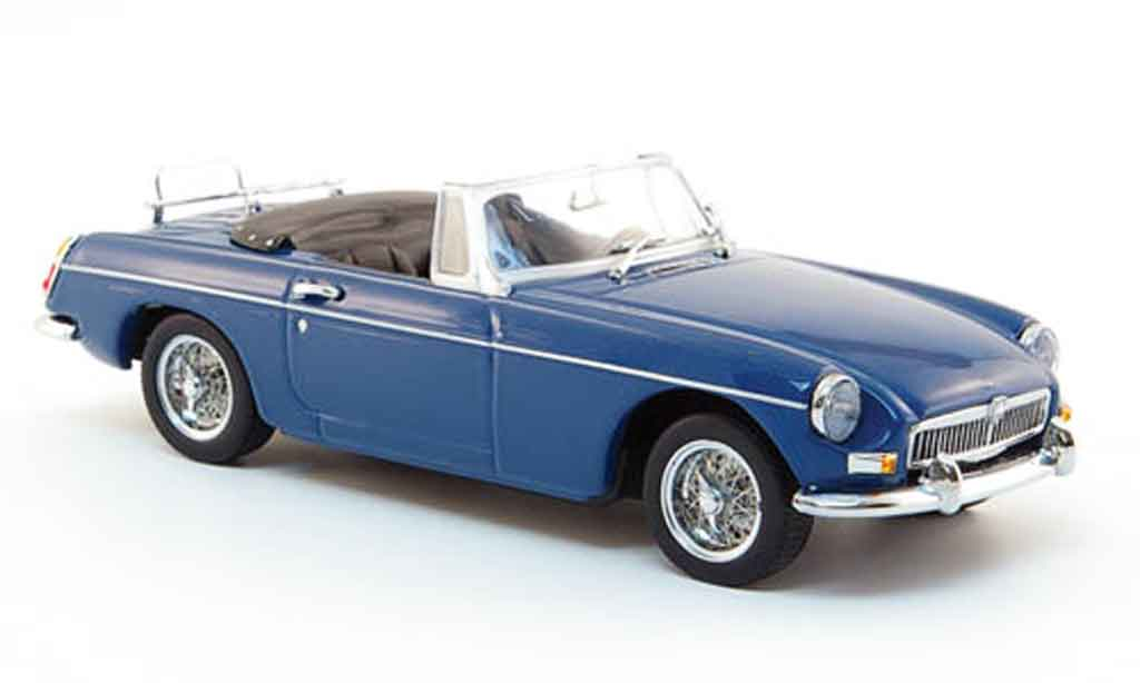 MG B 1/43 Minichamps Roadster bleu 1968