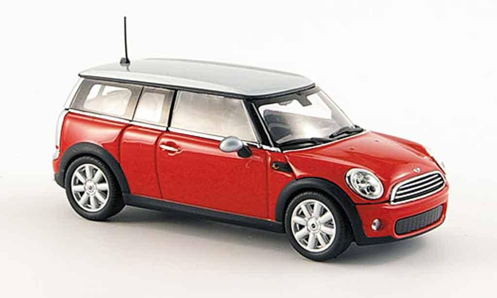 mini clubman clubman rot 2007 minichamps modellauto 1 43 kaufen verkauf modellauto online. Black Bedroom Furniture Sets. Home Design Ideas