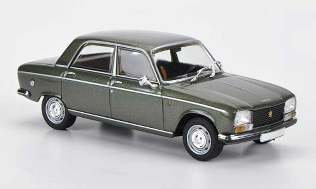 Peugeot 304 Berline 1/43 Minichamps verte 1965 miniature