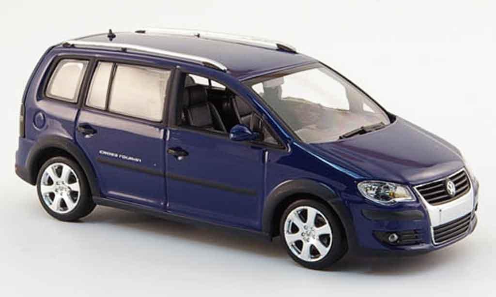 Volkswagen Combi 1/43 Minichamps cross bleu 2006 diecast