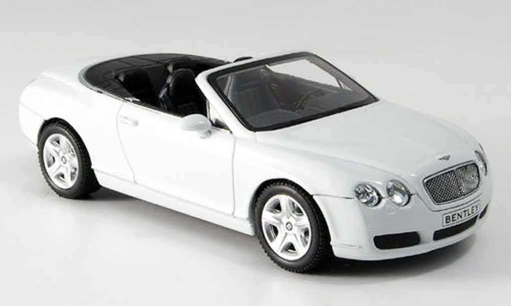Bentley Continental GTC 1/43 Minichamps blanche Linea 2007 miniature