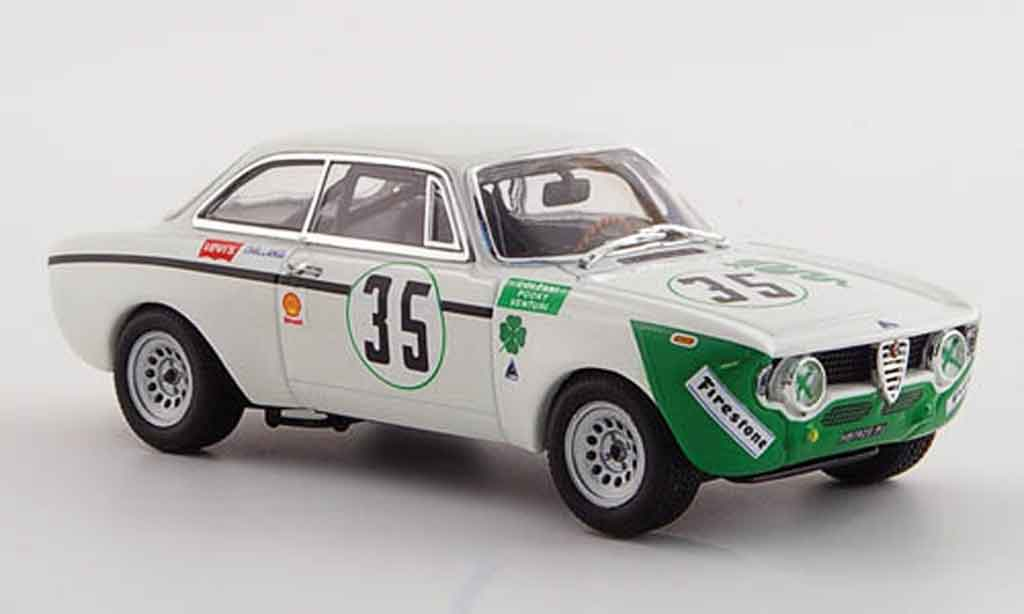 Alfa Romeo Giulia 1300 GTA 1/43 Minichamps junior no.35 jarama 1972 miniature