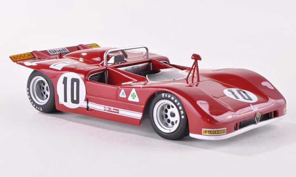 Alfa Romeo T33 1/43 Minichamps /3 No.10 ADAC 1000 Km Nurburgring 1971 Stommelen/Galli diecast model cars