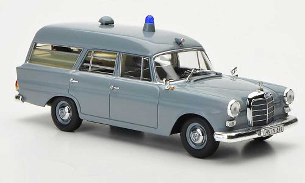 Mercedes 190 1/43 Minichamps Krankentransportwagen Deutsches rougees Kreuz 1961 miniature