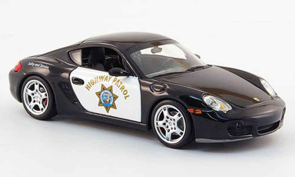 Porsche Cayman 1/43 Minichamps S Highway Patrol 2007 miniature