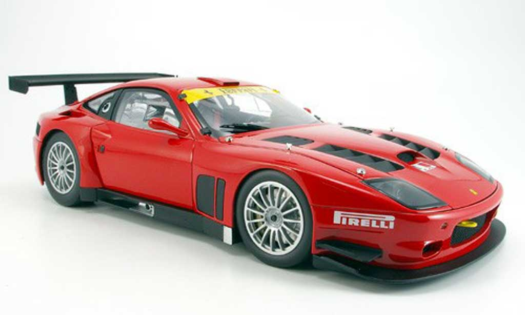 Ferrari 575 GTC 1/18 Kyosho red 2005 diecast model cars