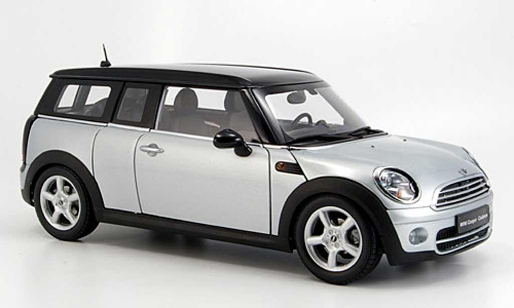 mini clubman r55 grau kyosho modellauto 1 18 kaufen verkauf modellauto online. Black Bedroom Furniture Sets. Home Design Ideas