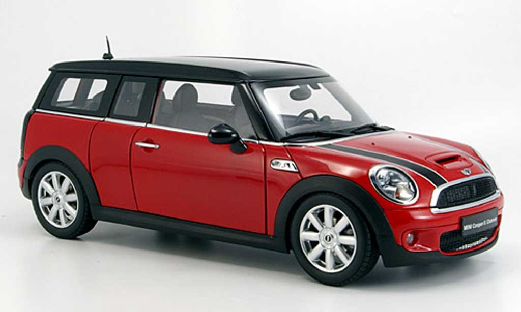 mini clubman s s r55 red kyosho diecast model car 1 18. Black Bedroom Furniture Sets. Home Design Ideas