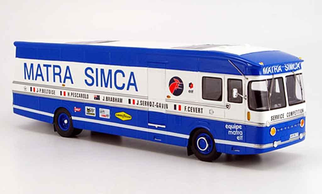 Simca Transporter 1/43 Spark equipe matra miniature