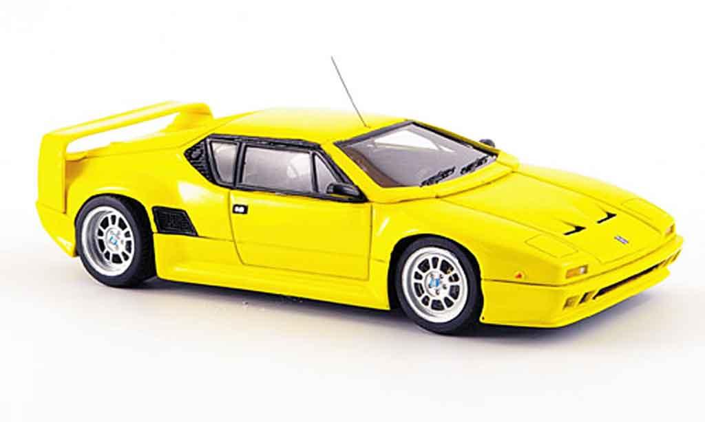 De Tomaso Pantera 200 1/43 Spark jaune 1992 miniature