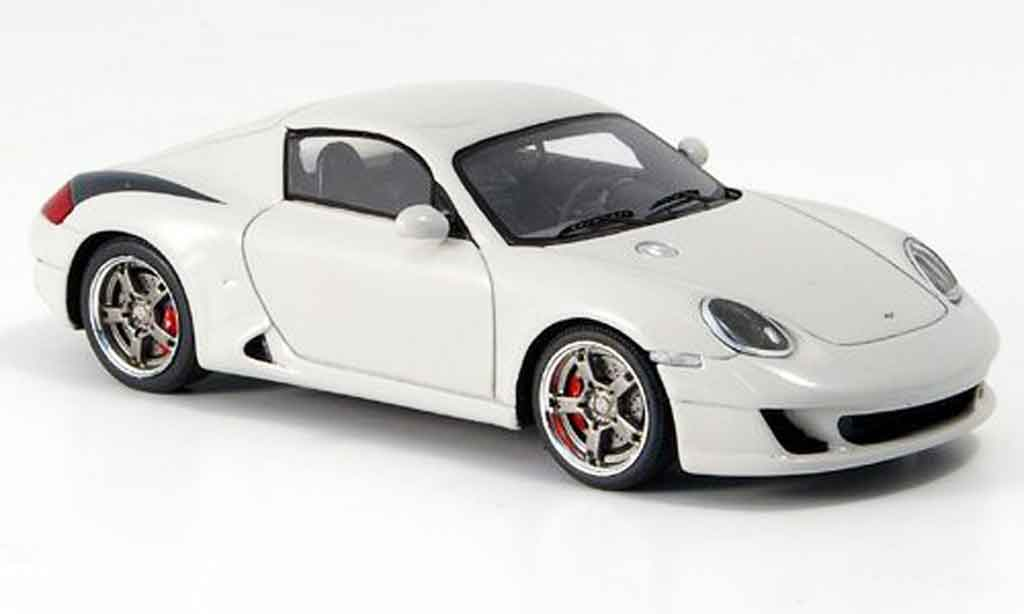 Ruf RK coupe 1/43 Spark beige 2006 miniature