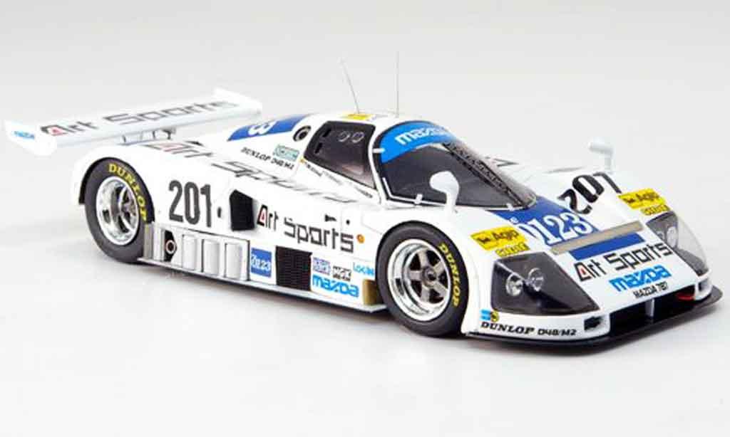 Mazda 787b No 201 Le Mans 1990 Spark Diecast Model Car 1