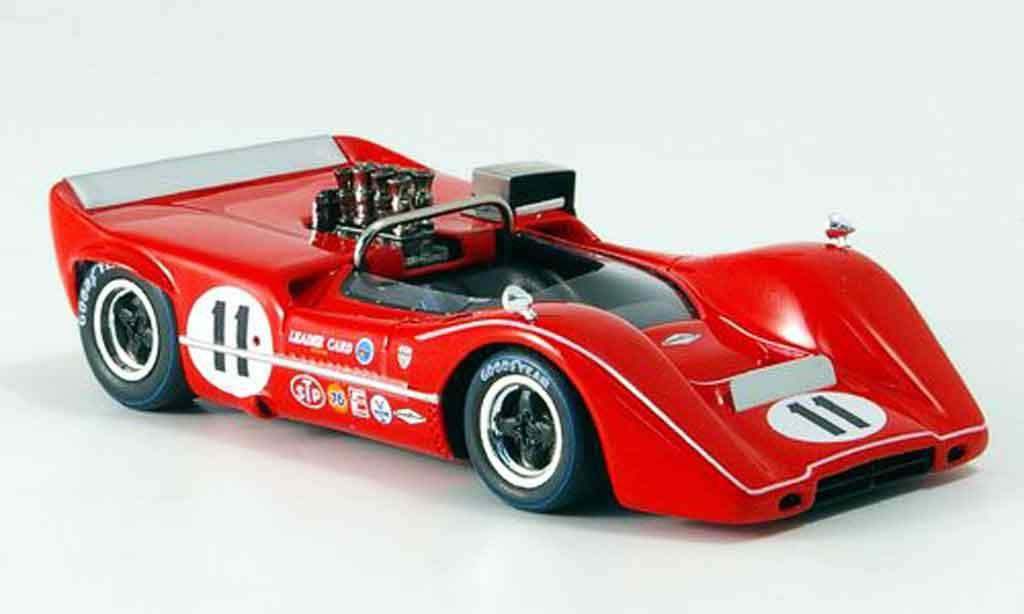 McLaren M6 1/43 Spark B No.11 L. Motschenbacher Las Vegas 1968 diecast model cars