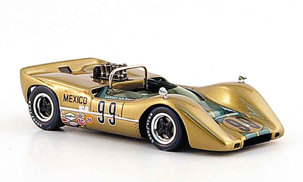 McLaren M6 1/43 Spark B No.99 M. Solana Sieger Mexico 1968 diecast model cars