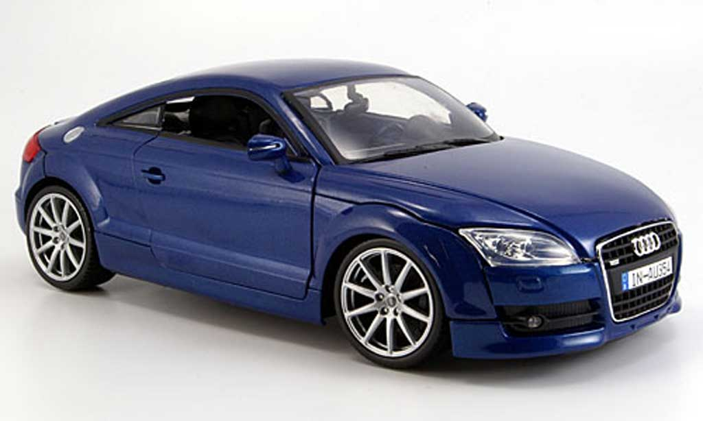 audi tt coupe blau 2007 motormax modellauto 1 18 kaufen. Black Bedroom Furniture Sets. Home Design Ideas