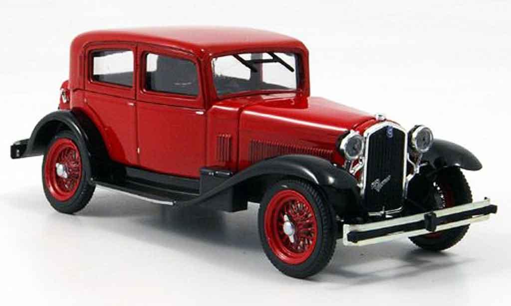Alfa Romeo 6C 1/43 Rio rouge 1932 miniature