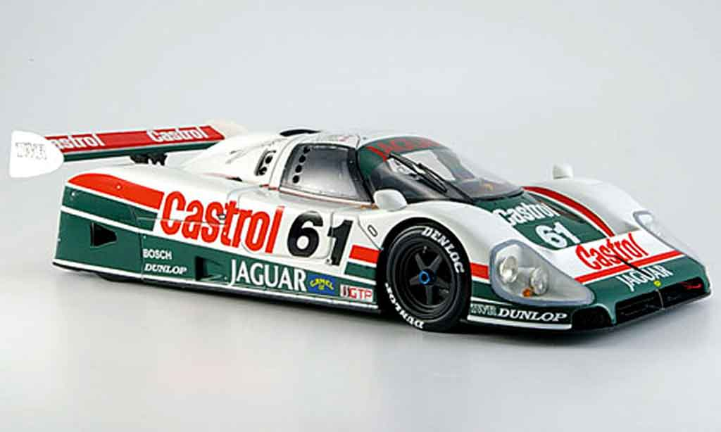 Jaguar XJ R9 1/18 Exoto d no.61 1988 miniature