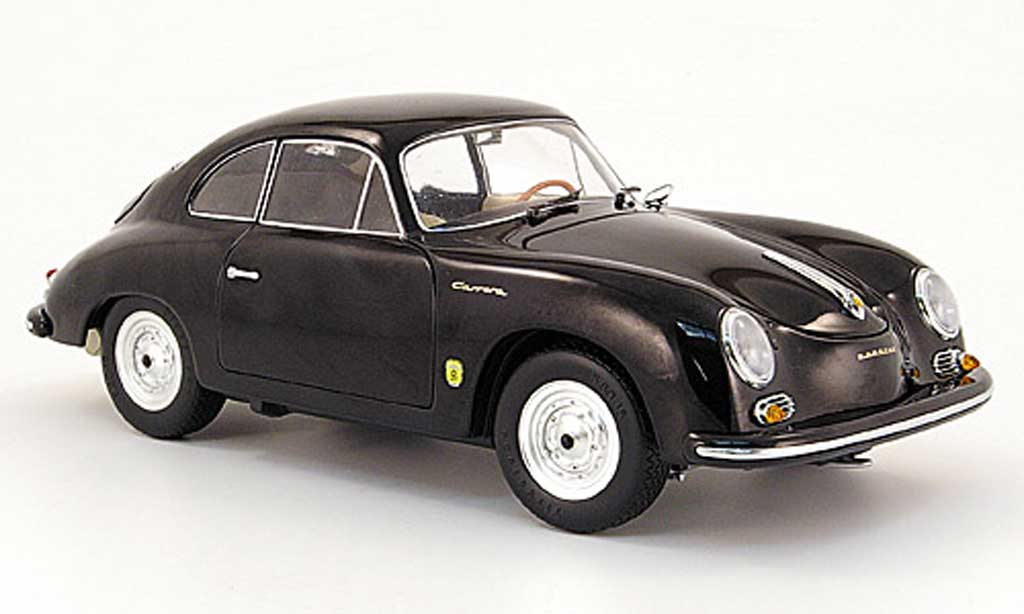 porsche 356 1955 a coupe black schuco diecast model car 1 18 buy sell diecast car on. Black Bedroom Furniture Sets. Home Design Ideas