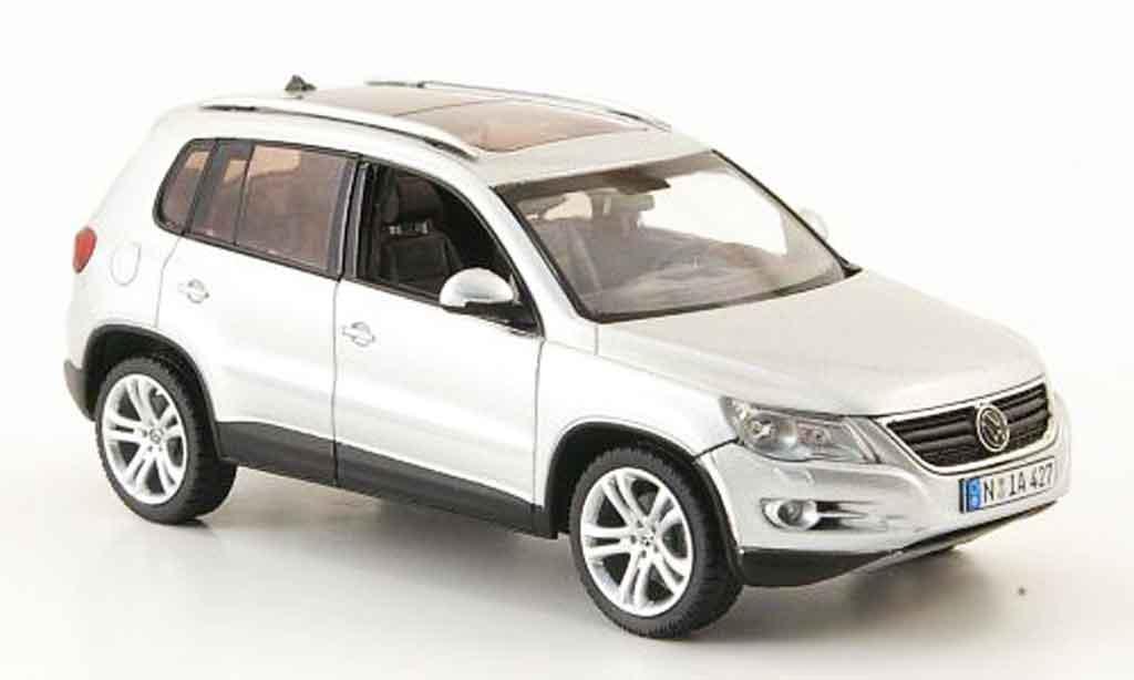 Volkswagen Tiguan Miniature Grise Metallisee Schuco 1 43