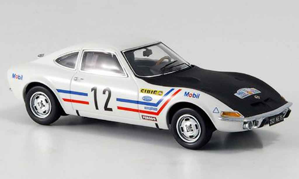 Opel GT 1/43 Schuco no.12 greder racing 1969 miniature