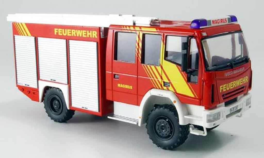 Magirus HLF 20 1/43 Schuco Iveco 16 Allrad pompier miniature