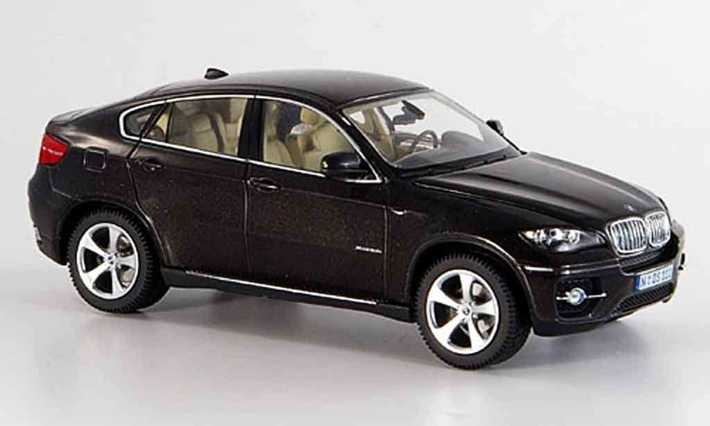 bmw x6 e71 miniature noire schuco 1 43 voiture. Black Bedroom Furniture Sets. Home Design Ideas