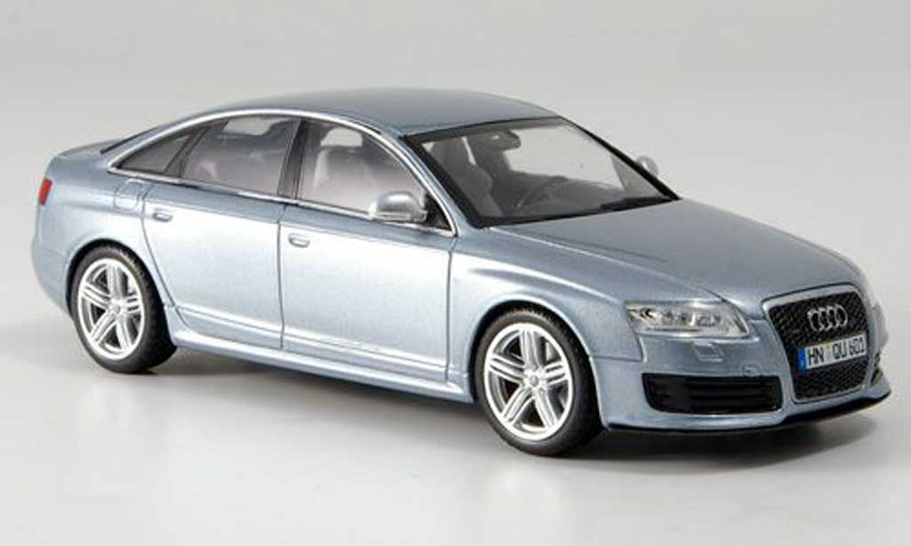 audi rs6 silbergrau 2008 minichamps modellauto 1 43. Black Bedroom Furniture Sets. Home Design Ideas
