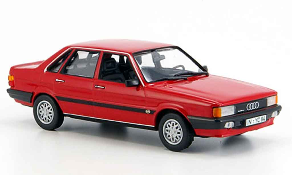 audi 80 quattro miniature rouge 1985 norev 1 43 voiture. Black Bedroom Furniture Sets. Home Design Ideas