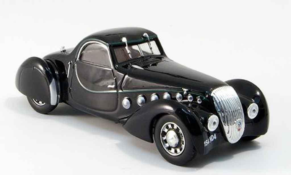 Peugeot 302 coupe 1/43 Norev Darl'Mat noire 1937 miniature