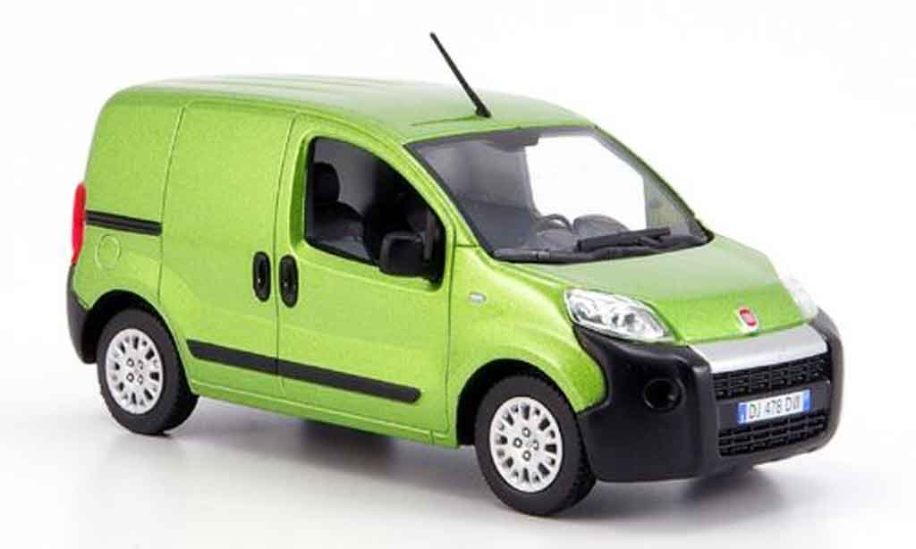 fiat fiorino miniature verte 2008 norev 1 43 voiture. Black Bedroom Furniture Sets. Home Design Ideas