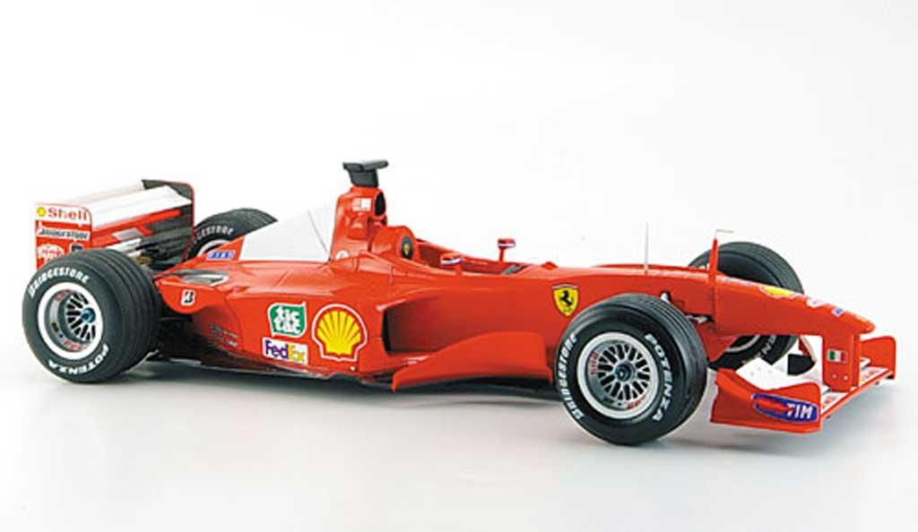 Ferrari F1 F2000 1/18 Hot Wheels Elite m. schumacher no.3 gp japan miniature