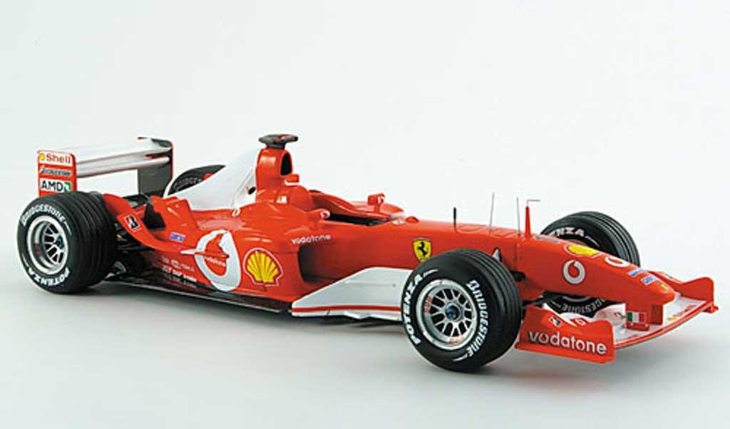 Ferrari F1 F2003 1/18 Hot Wheels Elite ga no.1 m. schumacher gp japan miniature
