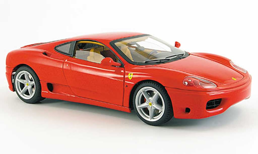 Ferrari 360 Modena coupe red mit beigem interieur Hot Wheels Elite. Ferrari 360 Modena coupe red mit beigem interieur miniature 1/18