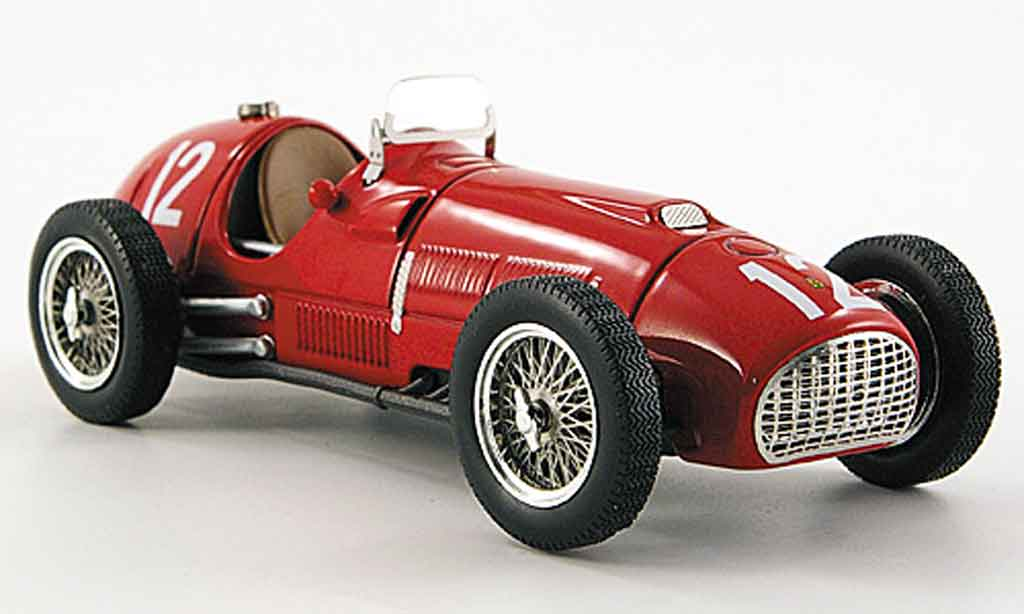Ferrari 375 1/43 Hot Wheels Elite no.12 gonzalez sieger gp grisestone 1951 miniature
