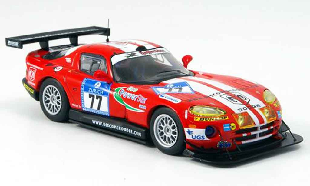 Dodge Viper GTS R 1/43 IXO No.77 Nurburgring 2005 miniature