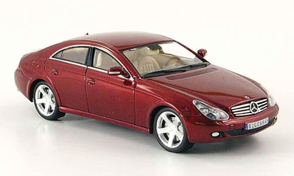 Mercedes Classe CLS 1/43 IXO 320 CDI red 2006 diecast model cars