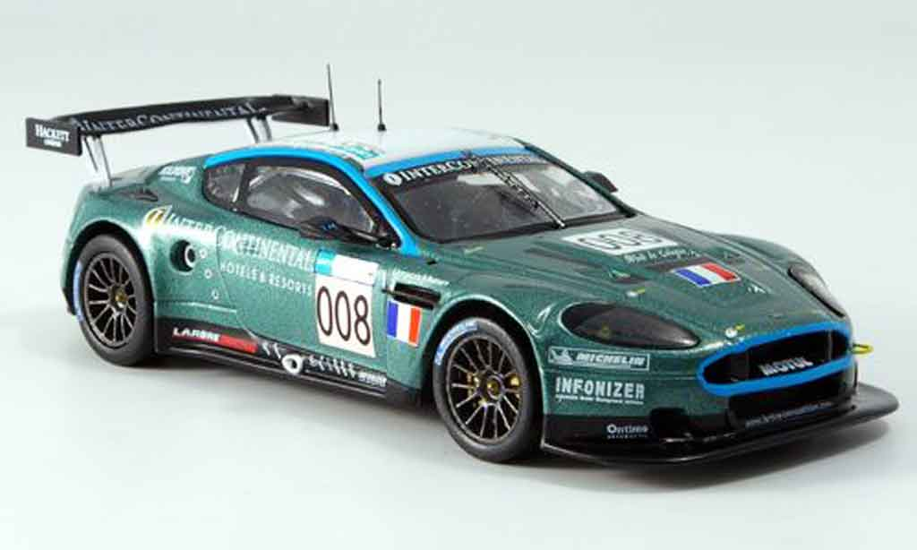 Aston Martin DBR9 1/43 IXO no.008 bouchut gollin elgaard le mans 2007 miniature