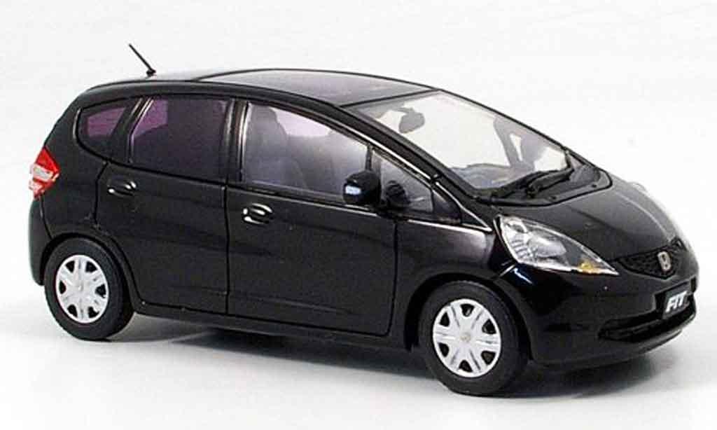 Honda Jazz 1/43 Ebbro Fit Skyroof noire 2008 miniature