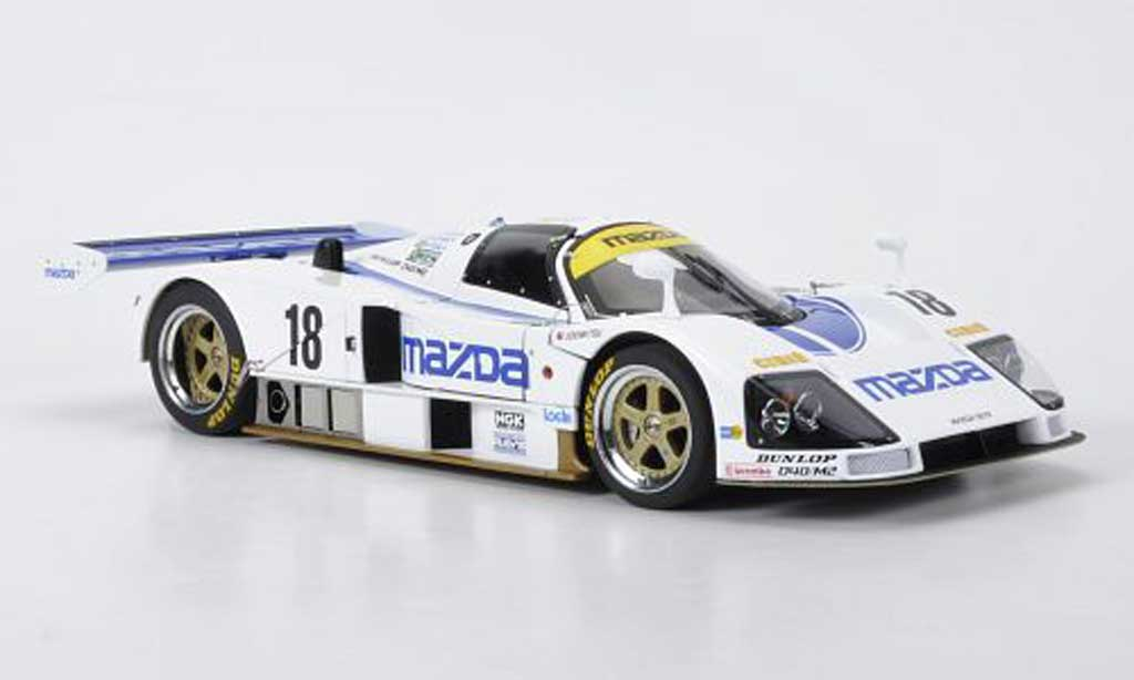 Mazda 787B 1/18 Autoart No.18 24h Le Mans 1991 Johannsson/Kennedy/Sala miniature