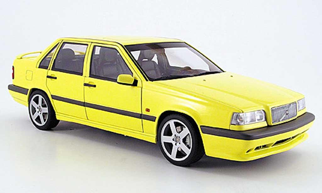 Volvo 850 Sedan 1/18 Autoart t-5 r jaune limousine miniature