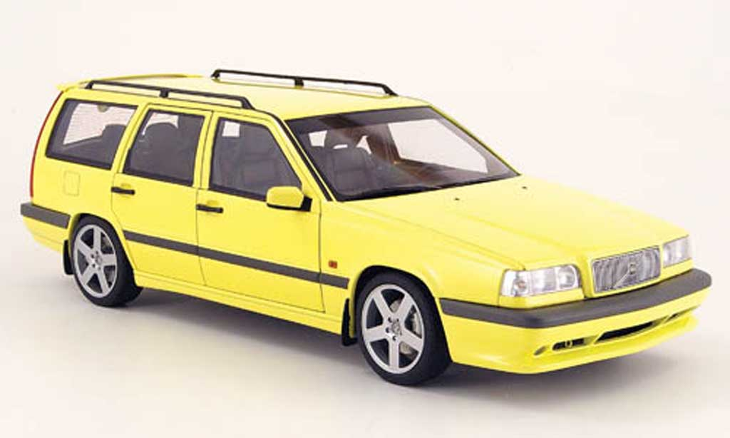 Volvo 850 Estate 1/18 Autoart break t-5r jaune 1995 miniature