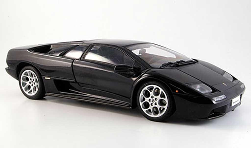 lamborghini diablo 6 0 schwarz autoart modellauto 1 18. Black Bedroom Furniture Sets. Home Design Ideas