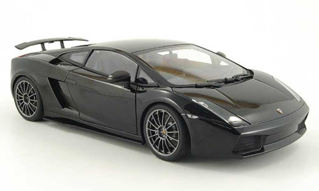 lamborghini gallardo superleggera schwarz autoart modellauto 1 18 kaufen verkauf modellauto. Black Bedroom Furniture Sets. Home Design Ideas