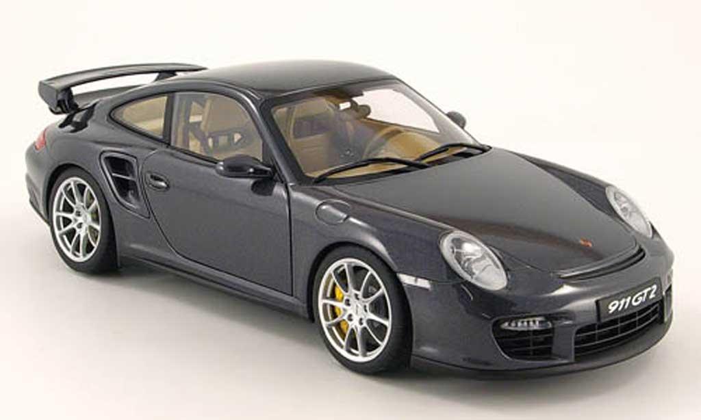 porsche 997 gt2 gray autoart diecast model car 1 18 buy. Black Bedroom Furniture Sets. Home Design Ideas