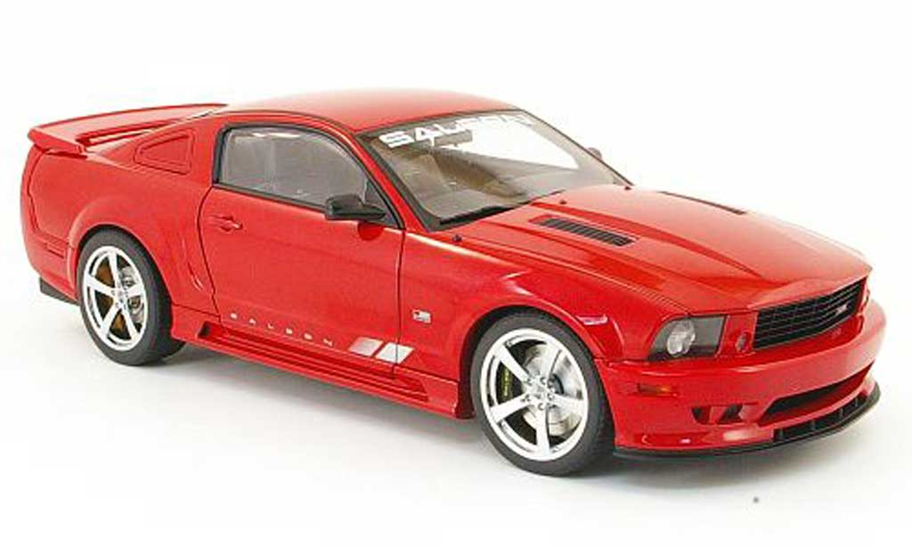ford mustang saleen s281 extreme red 2007 autoart diecast. Black Bedroom Furniture Sets. Home Design Ideas