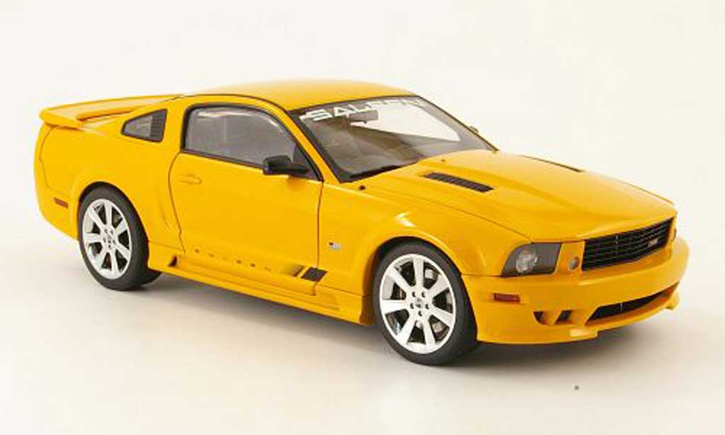 Ford Mustang Saleen 1/18 Autoart s281 orange miniature