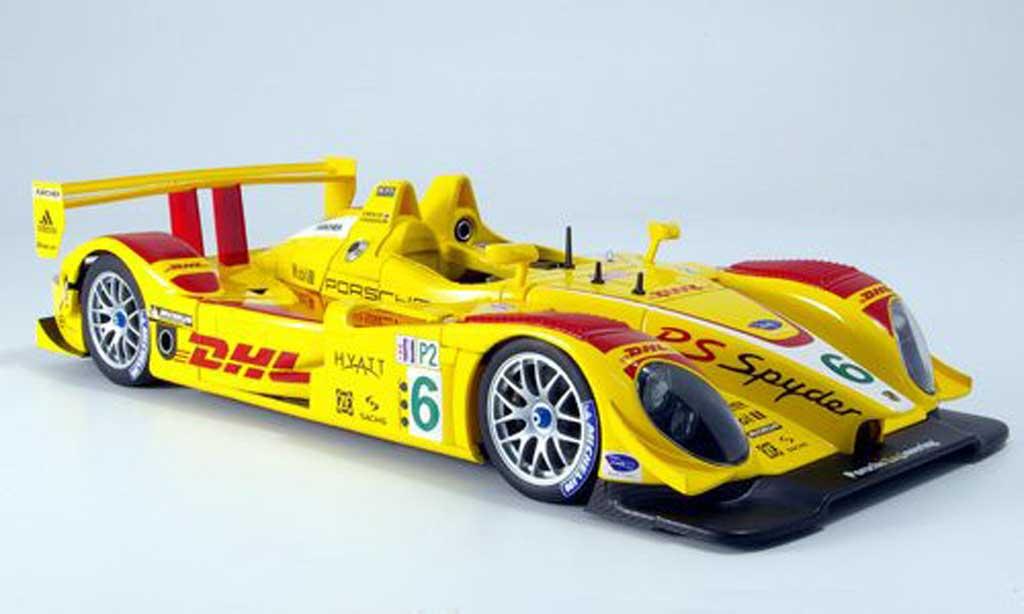 Porsche RS Spyder 1/18 Autoart no.6 dhl penske racing alms 2007 miniature