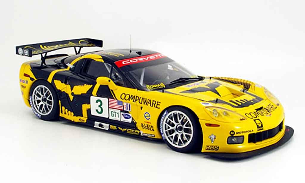 Chevrolet Corvette C6 1/18 Autoart r no.3 magnussen/o`connell alms 2007 diecast model cars