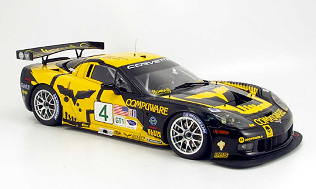 Chevrolet Corvette C6 1/18 Autoart r no.4 beratty/gavin alms 2007 diecast model cars