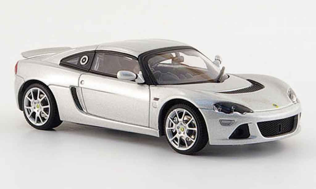 Lotus Europa 1/43 Autoart s grise metallisee miniature